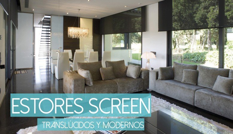 Estores tejido screen